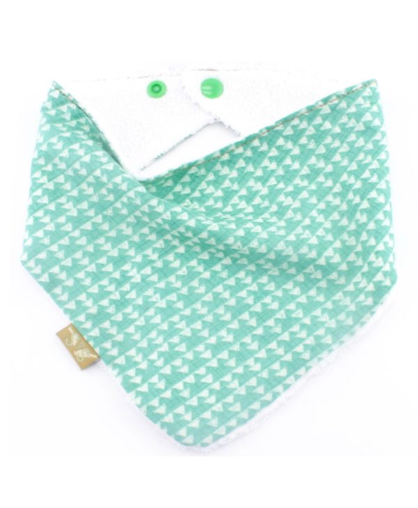 Terra-bandana-dribble-bib-adjustable-terry-cotton-designer