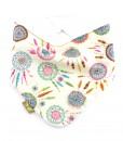 Dreamcatcher-bandana-dribble-bib-adjustable-terry-cotton-designer