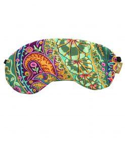 paisley jungle eye mask